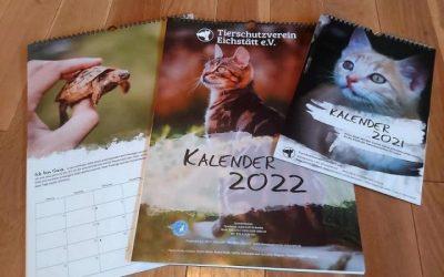 Unser neuer Tierschutzkalender ist da!